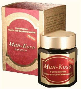 Man-Koso Premium im Glas